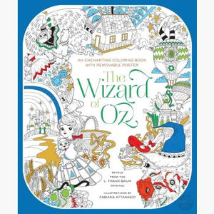 Wizard Of Oz Coloring Book Books Mystical Moons