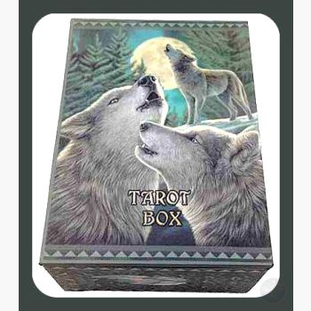 Wolf Song Tarot Box Mystical Moons