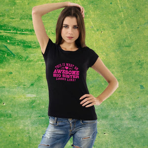 T Bhai - Awesome Big Sister T-Shirt for Women