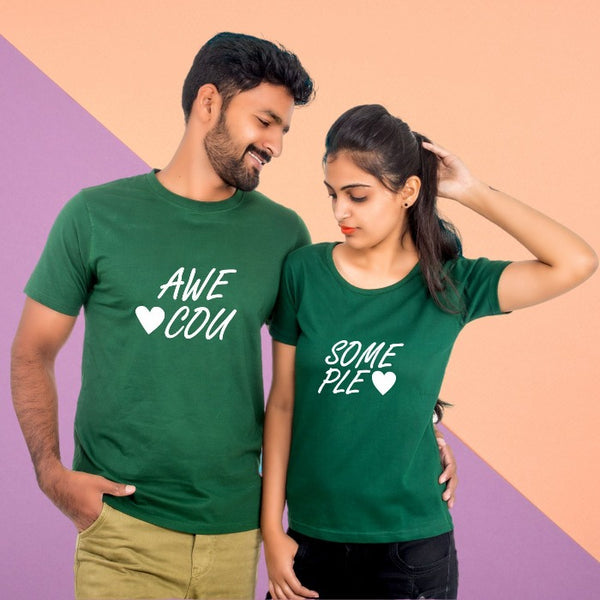 T Bhai - Awesome Couple T-Shirt
