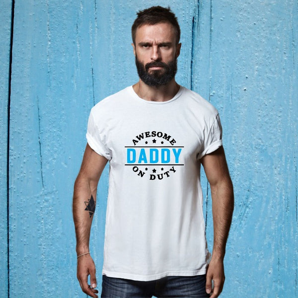 T Bhai - Awesome Daddy on Duty T-Shirt for Men