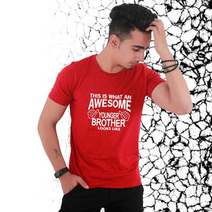 T Bhai - Awesome Younger Brother T-Shirt for Men