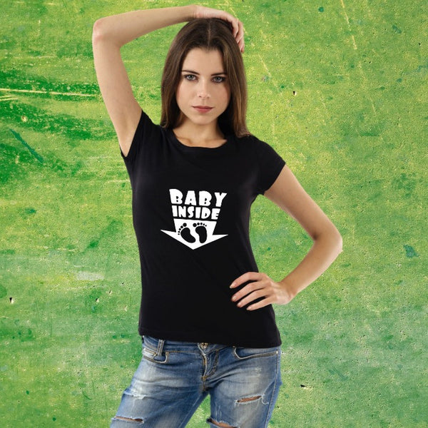 T Bhai - Baby Inside Maternity T-Shirt for Women