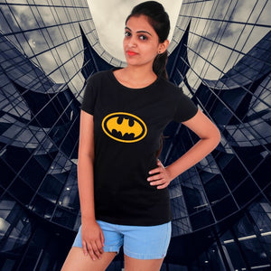 T Bhai - Batman T-Shirt for Women