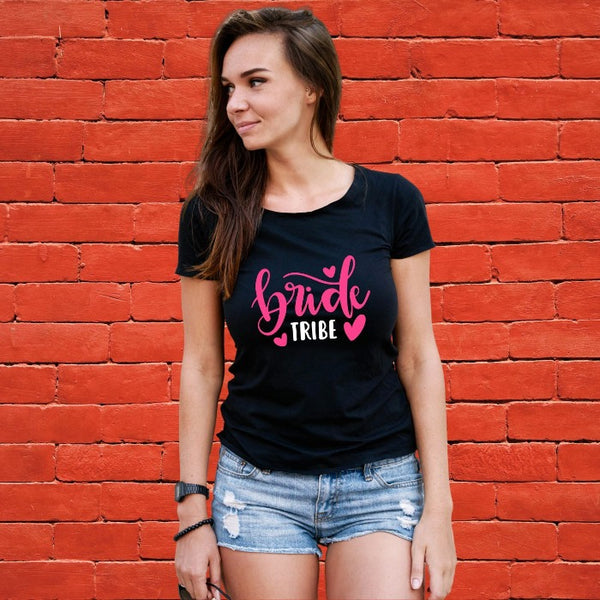 T Bhai - Bride Tribe T-Shirt for Women