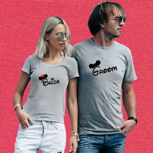 T Bhai - Bride & Groom Couple T-Shirt