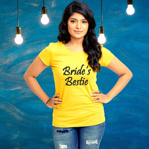 T Bhai - Bride's Bestie T-Shirt for Women