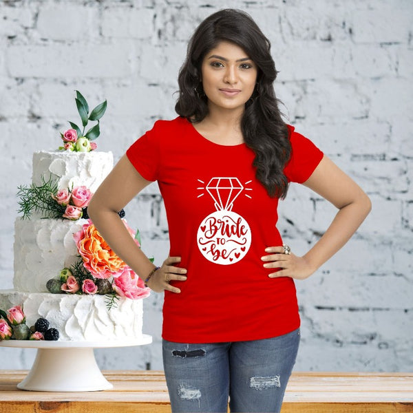T Bhai - Bride To Be T-Shirt for Women