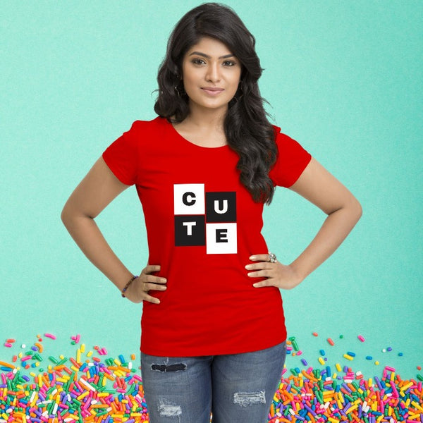 T Bhai - Cute T-Shirt for Women
