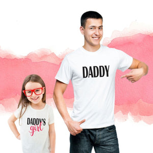 T Bhai - Daddy & Daddy's Girl Family T-Shirt