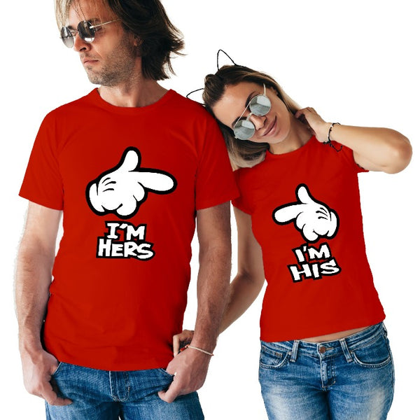 T Bhai - His & Hers Couple T-Shirt