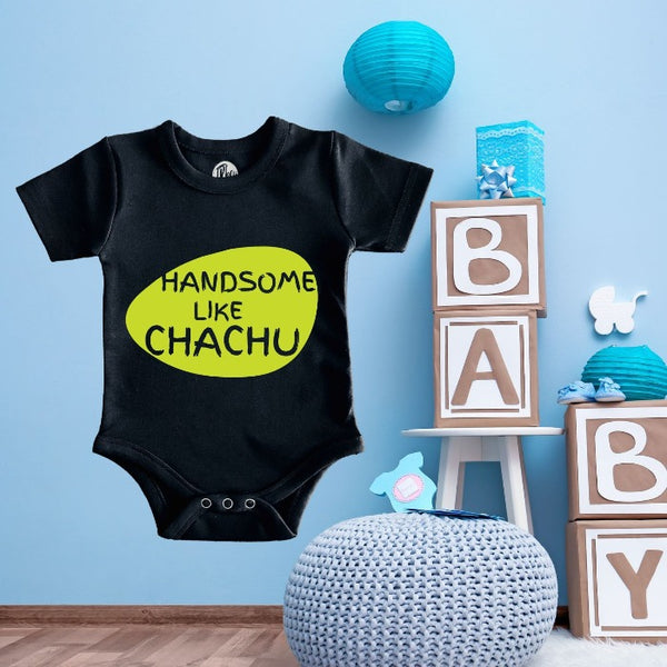 Handsome Like Chachu Gift Romper for Babies