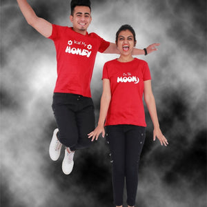 T Bhai - Honey Moon Couple T-Shirt