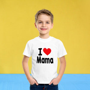 T Bhai - I Love Mama T-Shirt for Kids