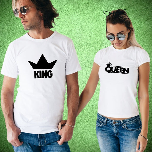 T Bhai - King & Queen Couple T-Shirt