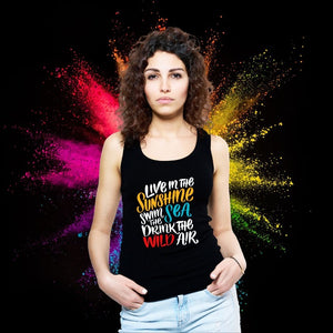 T Bhai - Live in the Sunshine Tank Top for Women