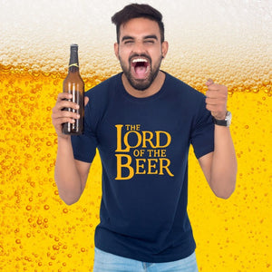 T Bhai - Lord of the Beer T-Shirt for Men