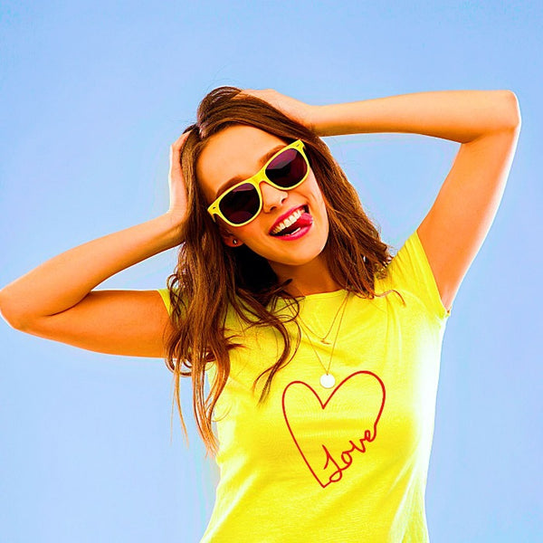 T Bhai - Love T-Shirt for Women