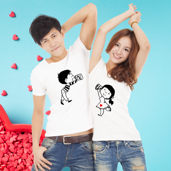 T Bhai - Love You Too Couple T-Shirt