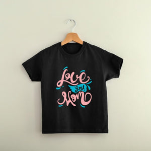 T Bhai - Love you Mom T-Shirt for Kids
