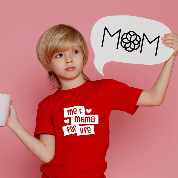 T Bhai - Me and Mama for Life T-Shirt for Kids