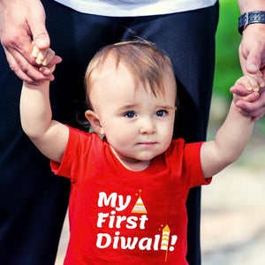 My First Diwali T-Shirt for Kids