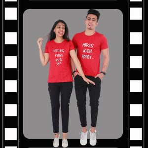 T Bhai - Nothing Makes Sense When Apart Couple T-Shirt