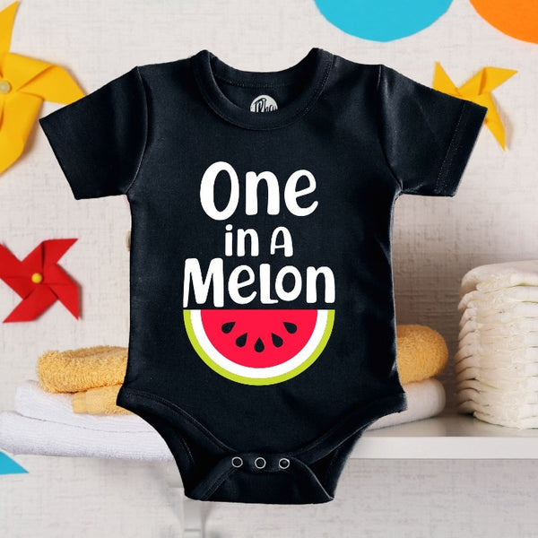 One in a Melon Romper for Baby Boys & Baby Girls