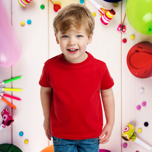 Plain Red T-Shirt for Kids