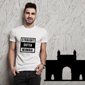 T Bhai - Straight Outta Mumbai T-Shirt for Men