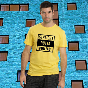 T Bhai - Straight Outta Punjab T-Shirt for Men
