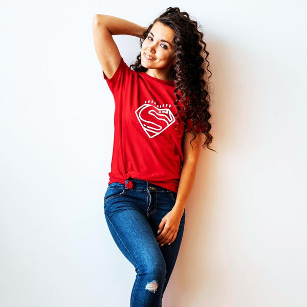 T Bhai - Superman T-Shirt for Women