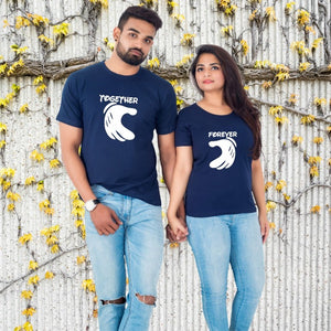T Bhai - Together Forever Couple T-Shirt