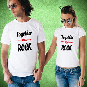 T Bhai - Together We Rock Couple T-Shirt