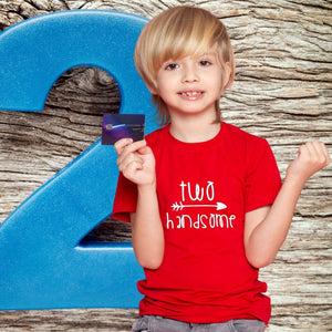 T Bhai - Two Handsome Second Birthday T-Shirt