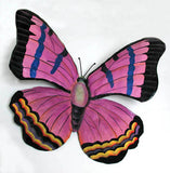 Butterfly Wall Hanging - Decorative Painted Metal Butterflies - Home & Garden Decor