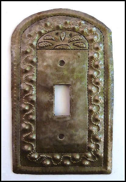 Metal Switch Plate Cover - Haitian Steel Oil Drum - Light Switchplate Cover - Single Switchplate