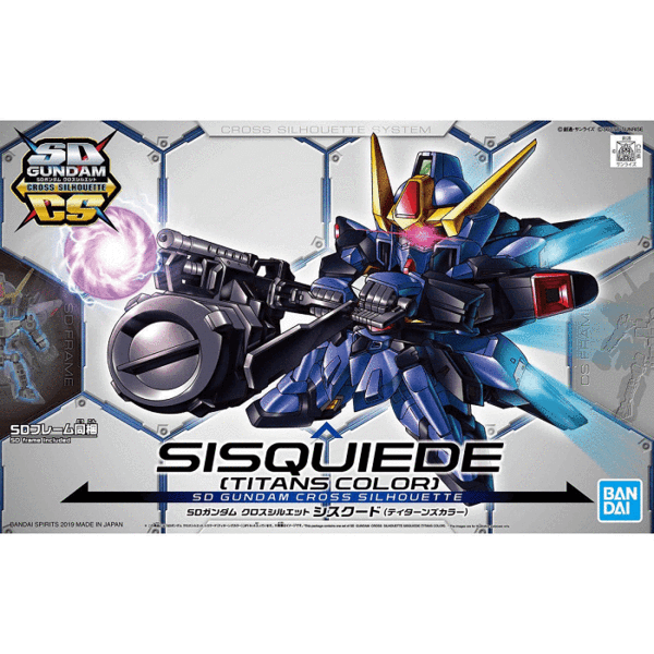 Mini Toys Store SD Gundam Cross Silhouette