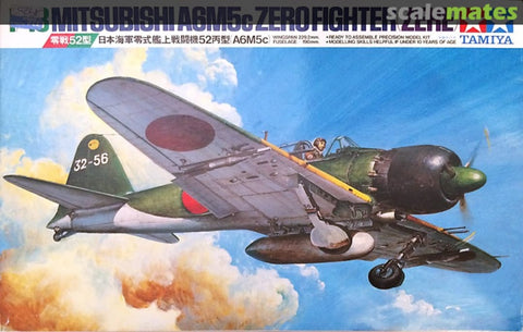 Tamiya 1/48 A6M5C Type 52 Zero Fighter