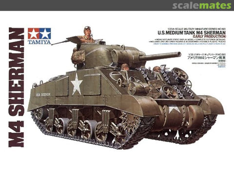 Tamiya 1/35 U.S. Medium Tank M4 Sherman