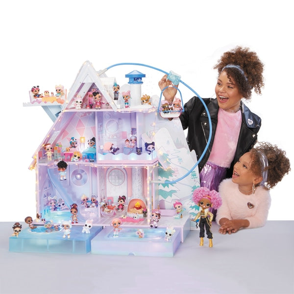 LOL SURPRISE WINTER CHALET DOLL HOUISE