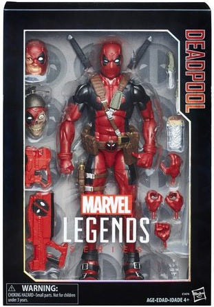 Marvel Legends Series: Deadpool Figura de Acción