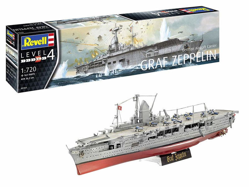 Revell Germany 1/720 German Aircraft Carrier GRAF ZEP