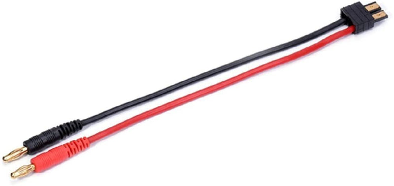 Traxxas TRX Male Charger Cables Adapter Lead with 4.0 Banana Male Plug 14AWG Wire
