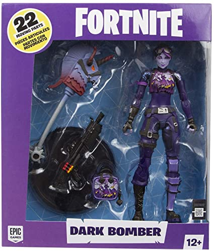 "Fortnite ""Dark Bomber"" Figura de Acción"