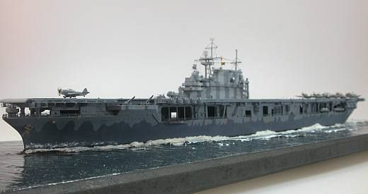 Tamiya 1/700 Hornet Aircraft Carrier
