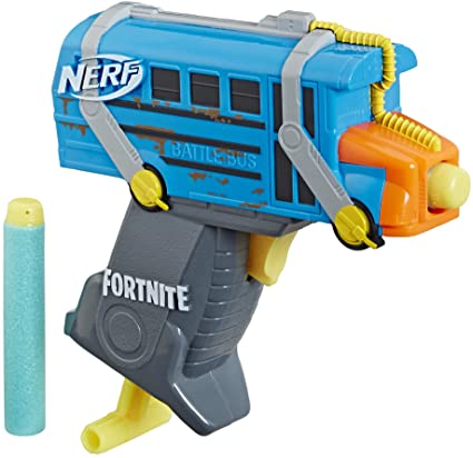 NERF Micro Battle Bus Microshots Fortnite