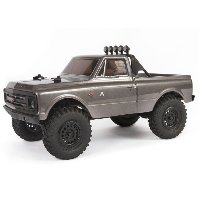 AXIAL 1/24 SCX24 1967 Chevrolet C10 4WD Truck Brushed RTR SILVER