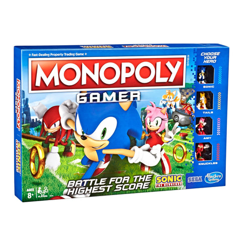 Monopoly Gamer: Edición Sonic the Hedgehog