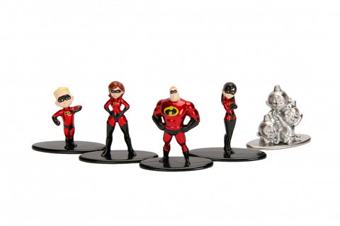 Metals Die Cast: Nano Metal Figs Los Incredibles 2